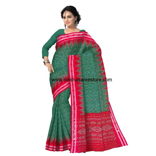OSS7422: Mercidized Odisha handloom Cotton sari