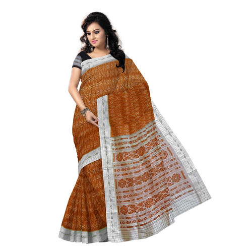 OSS5175: Light Brown Silk Saree for Your Wedding Party Wear