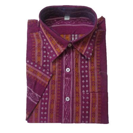 OSS8028: Indian handloom cotton Men's dress for office wear.