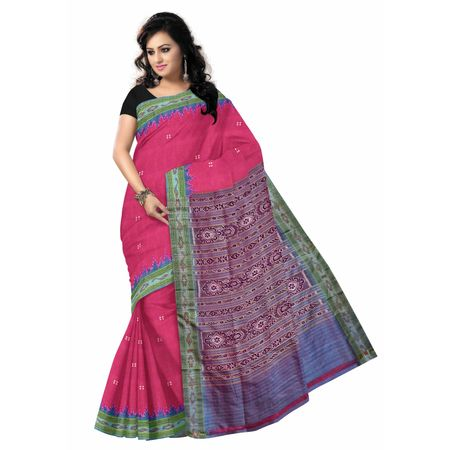 OSS014: Soft Pink color Handloom Silk sarees