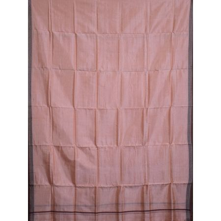 Light Pink Handloom Silk Joda for Puja wear AJ001160