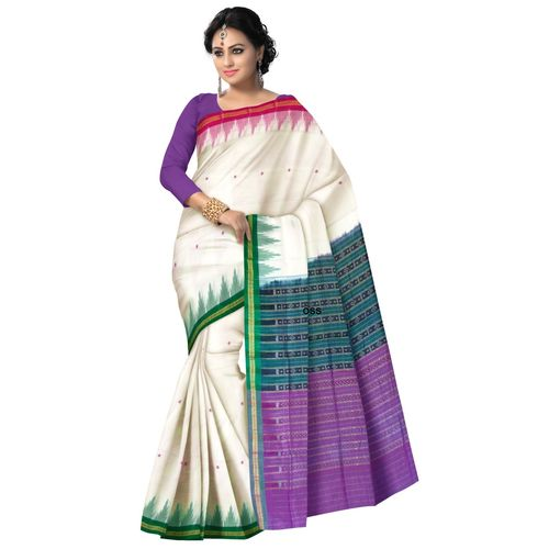 OSS7447: Ganga Jamuna famous number one cotton saree in odisha