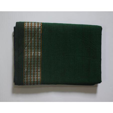 Handwoven Green Sambalpuri Cotton Blouse Piece AJ002062