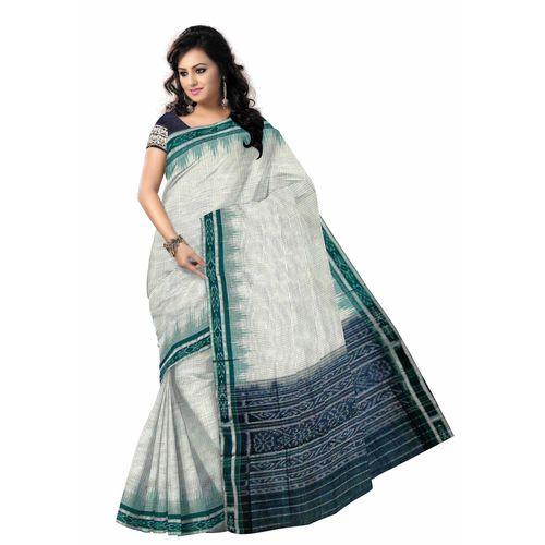 OSS7509: Cotton saree of odisha handloom store