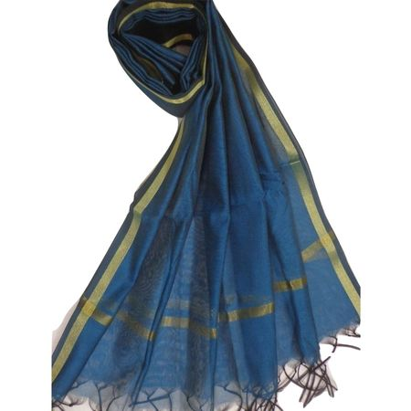 OSS9999: Handloom Chanderi Dupatta in best price ever