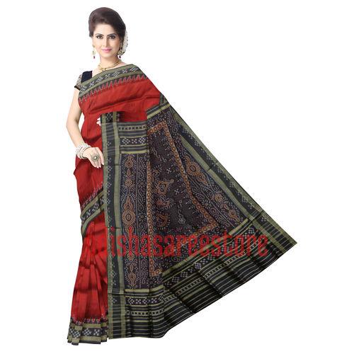 OSS5030: Maroon pasapalli design border Silk Sari for festival wear