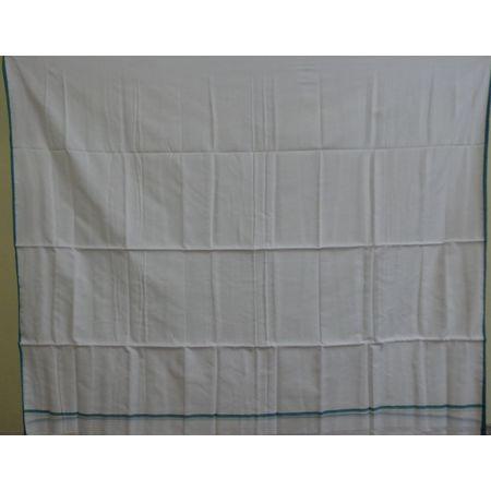 OSS556: Handloom White Dhoti