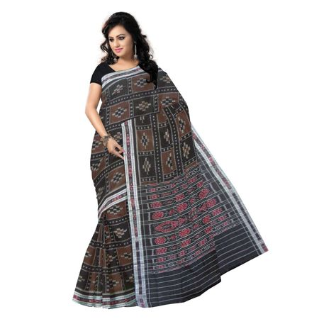 OSS7543: Brown Pasapalli handwoven Cheap cotton saris of India