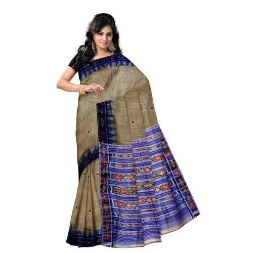 OSS006: Fakirpur Handloom Tussar Silk Saree