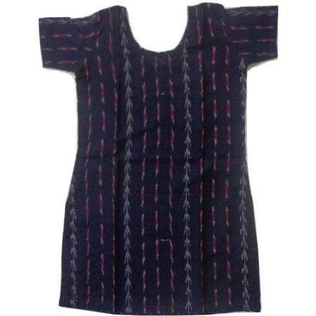 OSS8471: Handloom Cotton Kurti for Girls.