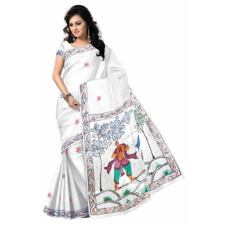 OSS20051: Famous Patachitra Saree Available for Online Shopping