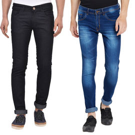 Stylox Men's Multicolor Slim Fit Casual Wear Jeans-DNM-COMBO2-1013-1003, 32