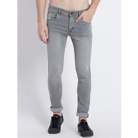 Stylox Men Slim Fit Mid Rise Light Brown Jeans-1008, 36