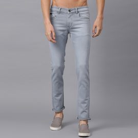 Stylox Men Mid Rise Grey Jeans-DNM-ODGRY-4135-01, 30