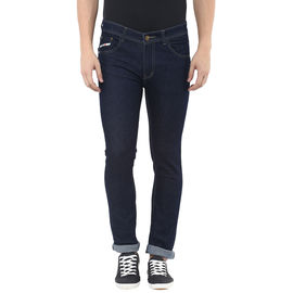 Stylox Carbon Blue Slim fit Jeans, 34