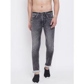 Stylox Men Slim Fit Stretchable Grey 5311-1284, 34