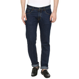 STYLOX REGULAR FIT MEN'S BLUE JEANS(DNM6008), 32