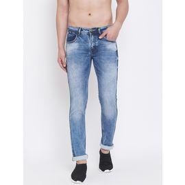 Stylox Men Slim Fit Stretchable Blue Jeans 5101-1259, 34