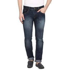 Stylox Regular Fit Men's Blue Jeans(DNM6005), 34