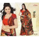 Printed Designer Fancy Saree -s036nainakke