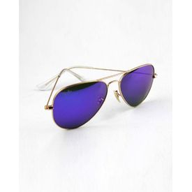 RayBan Blue Mercury Aviators Stylish Sunglasses