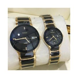 Imported RADO Jublie DaiStar Golden And Black Couple Watch