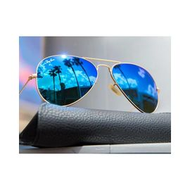 RayBan Blue Mercury Aviators Stylish Sunglasses Unisex shades