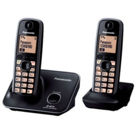 Panasonic KXTG-3712 Cordless Landline Phone(Black)