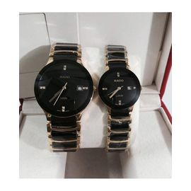 Imported RADO Jublie DaiStar COPPER And BLACK Couple Watch