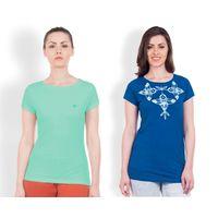 DUSG Women's T-Shirt Gritstones Combo Pack 2, s