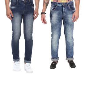 Combo of 2 Export Surplus Branded Denim Jeans, 32