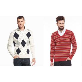 Combo of 2 Export Surplus Branded Sweater, s