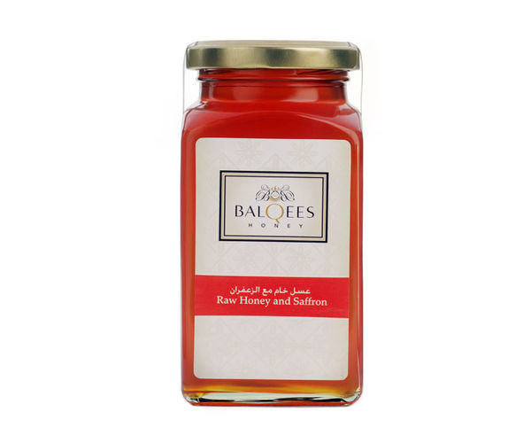 Raw Honey and Saffron, 1 kg