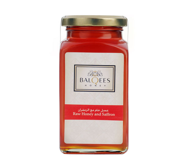 Raw Honey and Saffron, 290 g