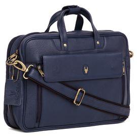 WildHorn 100% Genuine Leather (15.5inch) Laptop Messenger Bag DIMENSION: L- 15.5inch H- 11inch W- 4inch