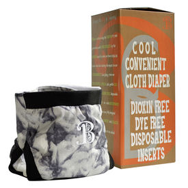 Bdiaper Cover with Disposable Insert, Night Sky