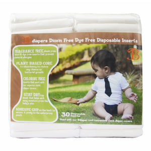 Bdiaper Disposable NappyPads ( 30 pack)