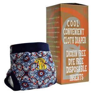 Firework Bdiaper Cover with Disposable Insert, medium