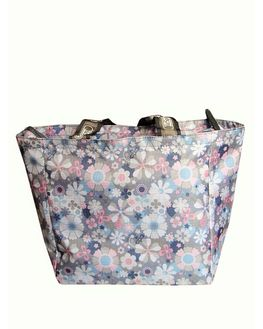 Daisy Floral Printed Waterproof Mother Bag