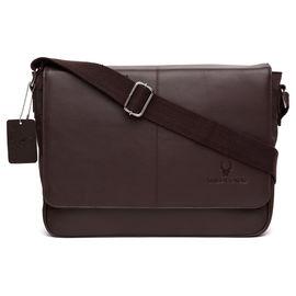 WildHorn Leather Laptop Bag DIMENSION: L- 14inch H- 11inch W- 3.5inch