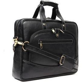 WildHorn 100% Genuine Leather Laptop Messenger Bag DIMENSION: L- 15.5inch H- 11.5inch W- 3inch