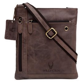 WildHorn New Hi-Quality 100% Genuine Leather Messenger Bag DIMENSION: L- 8.5inch H- 10inch W- 0.5inch