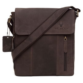 WildHorn Leather Messenger Bag