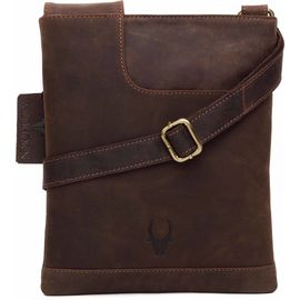 WildHorn Leather Messenger Bag DIMENSION: L- 8inch H- 10.5inch W- 0.5inch