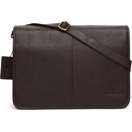 WildHorn Leather Laptop Bag DIMENSION: L- 13.5inch H- 10.5inch W- 3inch