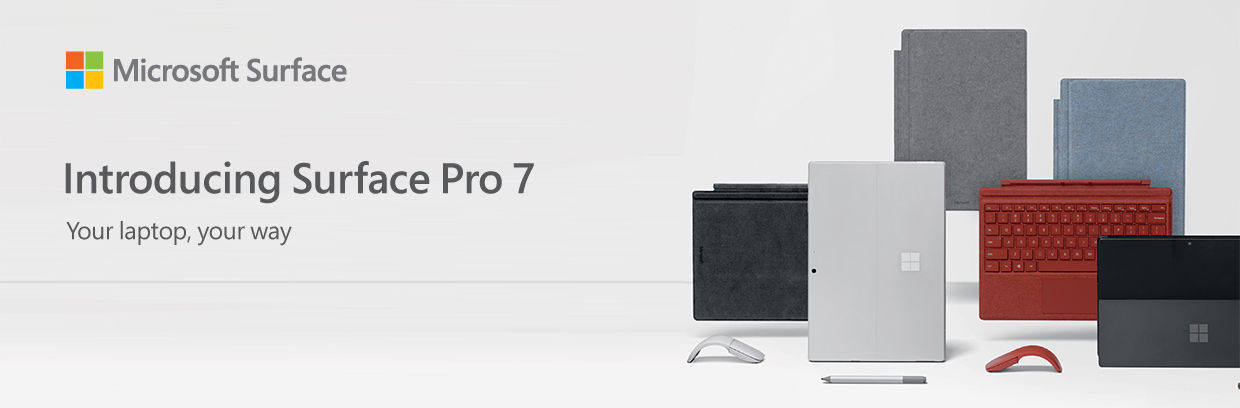 Introducing surface pro7