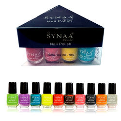 Synaa Nail Polish Spring Collection 2018 - Set of 10 Pieces - Multicolor Set# 4 (240g)