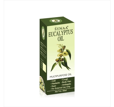 Synaa Eucalyptus Oil (60ml)