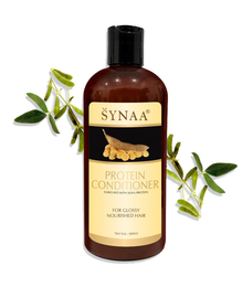Synaa Protein Conditioner For Glossy Nourished Hair - Deep Conditioning and Repair 400 ml