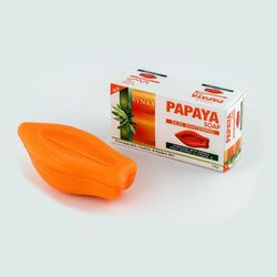 Synaa Papaya Soap (Skin Whitening Soap) - 135g